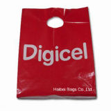 Pas Your Plastic Shopping Carrier Bag met MOQ 5000 (hbpe-1) aan