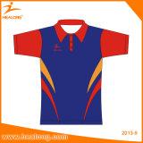 Bemannt Sublimation kundenspezifische Sportkleidung der Trainings-T-Shirts