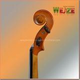 4/4 de color dorado violín estudiante de nivel de entrada