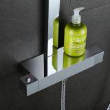 De sanitaire Toebehoren van de Badkamers van het Chroom van Waren kiezen Reeks van de Tapkraan van de Douche van de Badkamers van het Handvat de Hoofd uit