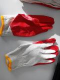 10T/C экономические качества латексные перчатки с покрытием
