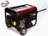 5 квт/ква высокого качества медного провода электрического запуска сварка бензин генератор