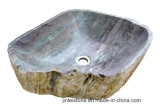 Естественная Polished каменная раковина мытья тазика для ванной комнаты/мыть