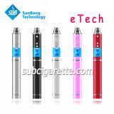 Новая сигарета Etech прибытия e с функциями крена и факела силы для электронной сигареты