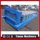 Panneau de conteneur faisant machines le véhicule lambrisser le roulis formant la machine