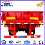 Parede Lateral Tri-Axles/Semi plana da Barragem Veículo Utilitário Superlink Interlink Cargo/reboque para venda
