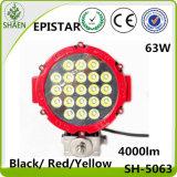 Epistar LEDの働くライト63W 7インチ