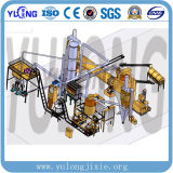 Yulong Brand Vertical 반지 Die Wood Sawdust Pellet Machine Line 4-6t/H