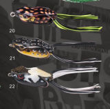 Black Fish Lure Hand Make Frog Lure Soft Lure