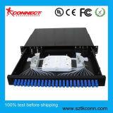 Tiroir de type SC 24 Ports du panneau de raccordement à fibre optique