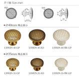 Perno di Furinture di alta qualità e maniglia d'ottone del guardaroba
