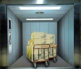Ascenseur élévateur de marchandises avec ligne de cheveux en acier inoxydable