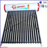 aço galvanizado de alta qualidade de Água Quente Solar Pressurizado