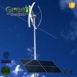 Sistema eléctrico híbrido solar del viento para el uso casero