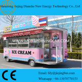 Ce/SGS de Elektrische Vrachtwagen van de Snack voor Verkoop