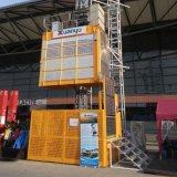 Gerbeur/élévateur à grande vitesse de construction de construction de fréquence avec personnalisable