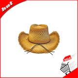 Sombrero de vaquero, sombrero de paja de la rafia