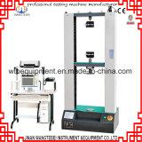 Machine de test de tension stratifiée de tissu en aluminium de plastiques
