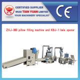 Ligne de production complète de remplissage d'oreiller en fibre