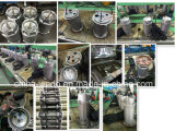 Pompes à eau submersibles électriques de Qdx10-10-0.55f Dayuan 220V/380V, 0.55kw