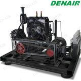 Compresor de aire de alta presión del pistón del motor diesel de 1000 PSI