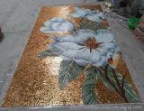 壁のガラスモザイク、パターン芸術のモザイク、ガラスモザイク模様、功妙なモザイク