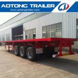 中国の販売のための金製造者40FTの平面の容器のトレーラー