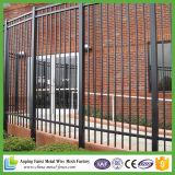 Galvanisierter vorfabrizierter bearbeitetes Eisen-Zaun für USA-Markt