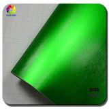 Зеленый цвет пленки перлы крома автомобиля Tsautop почищенный щеткой мотоциклом штейновый