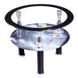 安いガラス側面表またはコーヒーテーブルかホーム家具