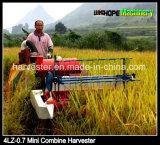 La pleine eau alimentante automotrice engine fraîche 4lz-0.7 mini moissonneuse de riz