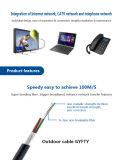 Cable de fibra óptica exterior 108 Core GYFTY for Communication