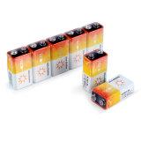 Alarme de fumaça de Longa Duração Bateria Seca alcalina de 9 V