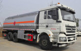 Camion de pétrolier de Shacman 6X4 20t 20000 litres de camion de réservoir de carburant