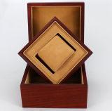 De houten Doos van de Gift van het Horloge Verpakkende met Hoofdkussen