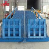 Rampa hidráulica ajustável usada Forklift da jarda da rampa de carregamento