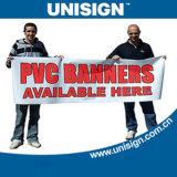 Bannière de publicité laminée à l'avant de Unisign Super Smooth PVC