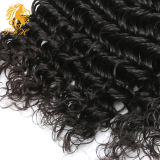 бразильские волосы Remy девственницы 9A глубоко курчавые