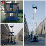 Elevación casera hidráulica de aluminio del levantador de la escala de la elevación de aluminio personal del hombre