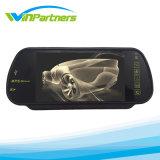 7дюйм зеркало заднего вида с Bluetooth, функция Handfree наружного зеркала заднего вида