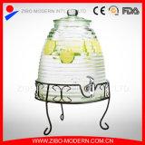 高品質の蛇口が付いているガラス飲料の飲み物ディスペンサーの瓶