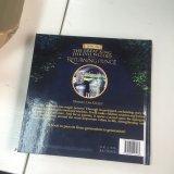 L'estampille chaude, gravent en relief, contrecarrent le livre d'enfants obligatoire de couture coloré de livre À couverture dure d'estampille