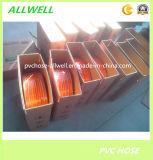 Manguito de alta presión trenzado del aerosol del aire de la fibra flexible plástica del PVC
