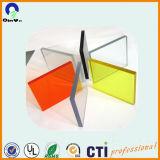 3mmのゆとりの鋳造物の風防ガラスのアクリルシート