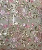 복장 의류를 위한 형식 자수 꽃 레이스 직물