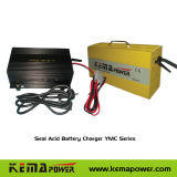 Joint de haute fréquence Chargeur de batterie de l'acide Ymc 6V-48V, 5A-40A