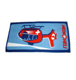 Promotionのための100%年の綿Compressed Printing Beach Towel