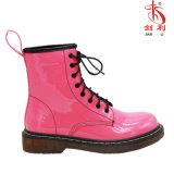 De kleurrijke Lace-up Enkel van het Leer van Pu Dame Worker Boots (AB633)