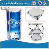 Affichage portable spirale cosmétiques Showcase (LT-07A)