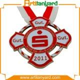 Médaille en alliage de zinc de modèle de propriétaire avec la bande